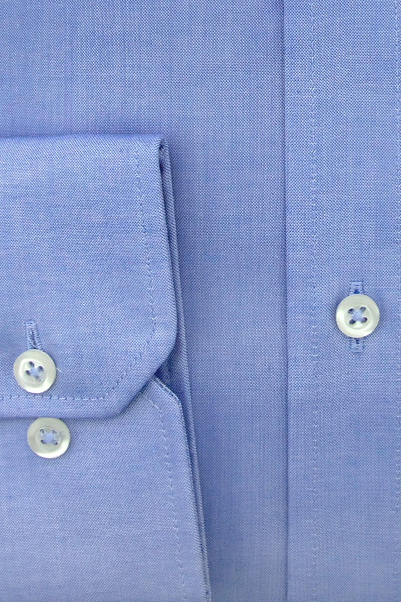 Eterna Hemd comfort fit Button-Down Oxford mittelblau