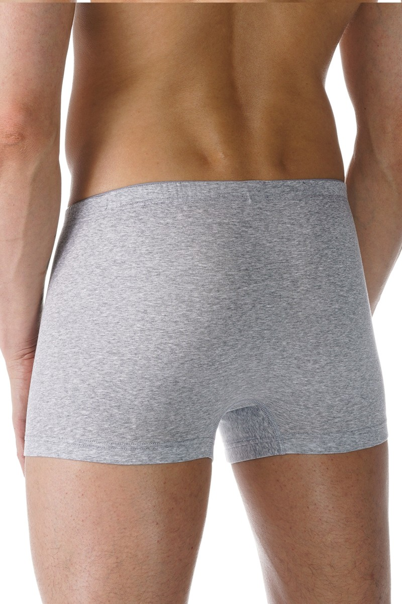 Mey Casual Cotton Shorty Boxers light grey melange