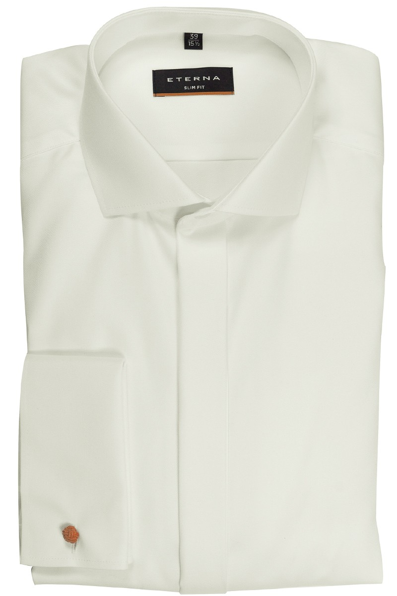 Eterna Hemd slim fit Modern Kent mit Umschlagmanschette