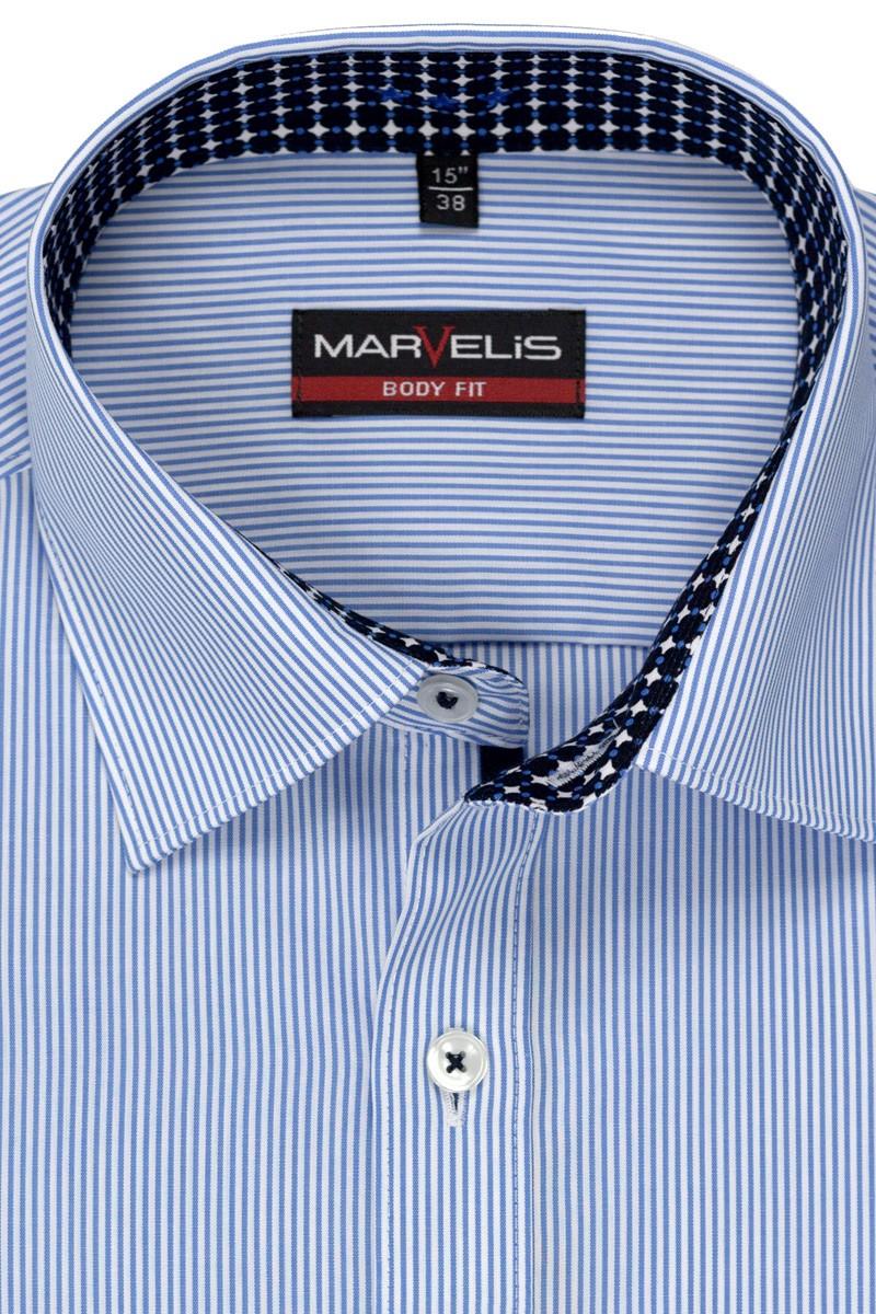 marvelis marvelis body fit hemd 69er arm 750689 011 excellent sch ne. Black Bedroom Furniture Sets. Home Design Ideas