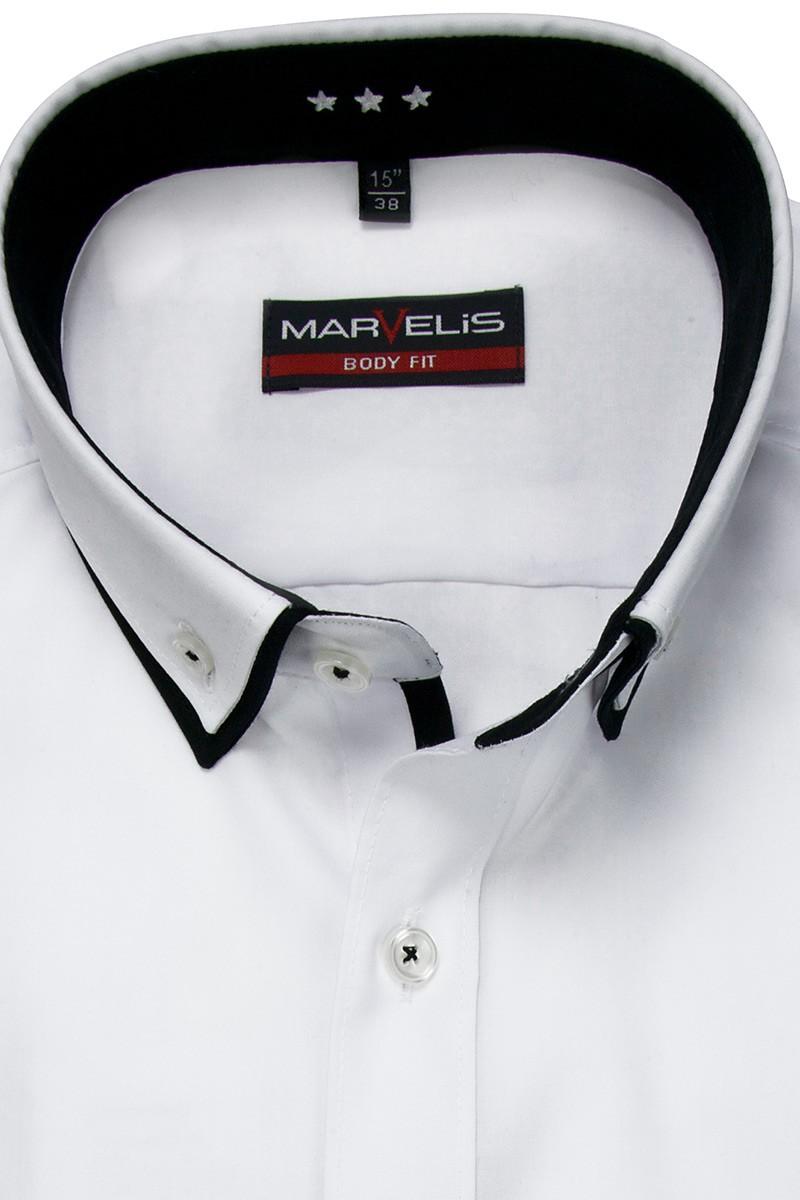 marvelis marvelis body fit hemd mini doppelkragen 751364 000 excellent. Black Bedroom Furniture Sets. Home Design Ideas