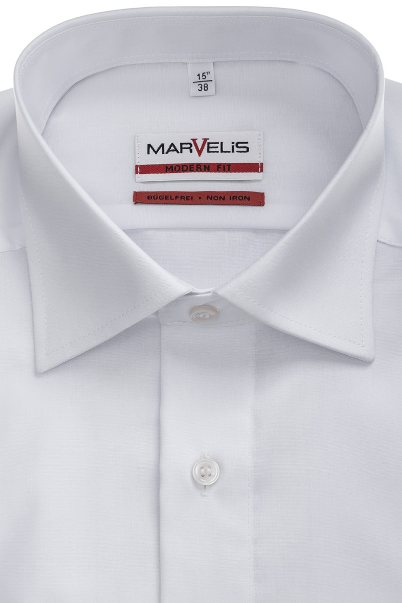 Marvelis  modern fit Hemd New Kent weiß