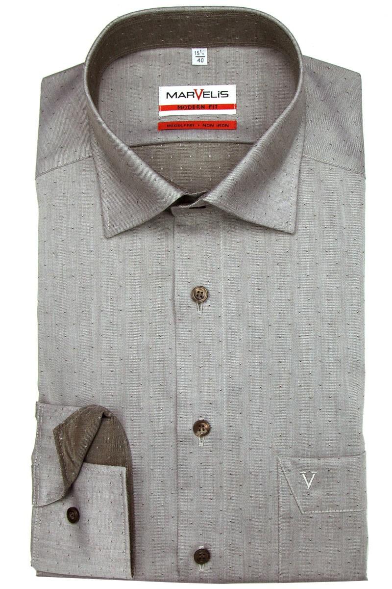 marvelis marvelis modern fit hemd under 723264 028. Black Bedroom Furniture Sets. Home Design Ideas