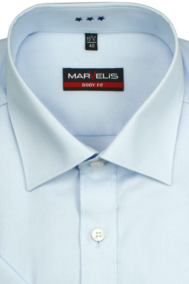 marvelis marvelis body fit kurzarm hemd new york kent bleu 679912 excellent. Black Bedroom Furniture Sets. Home Design Ideas