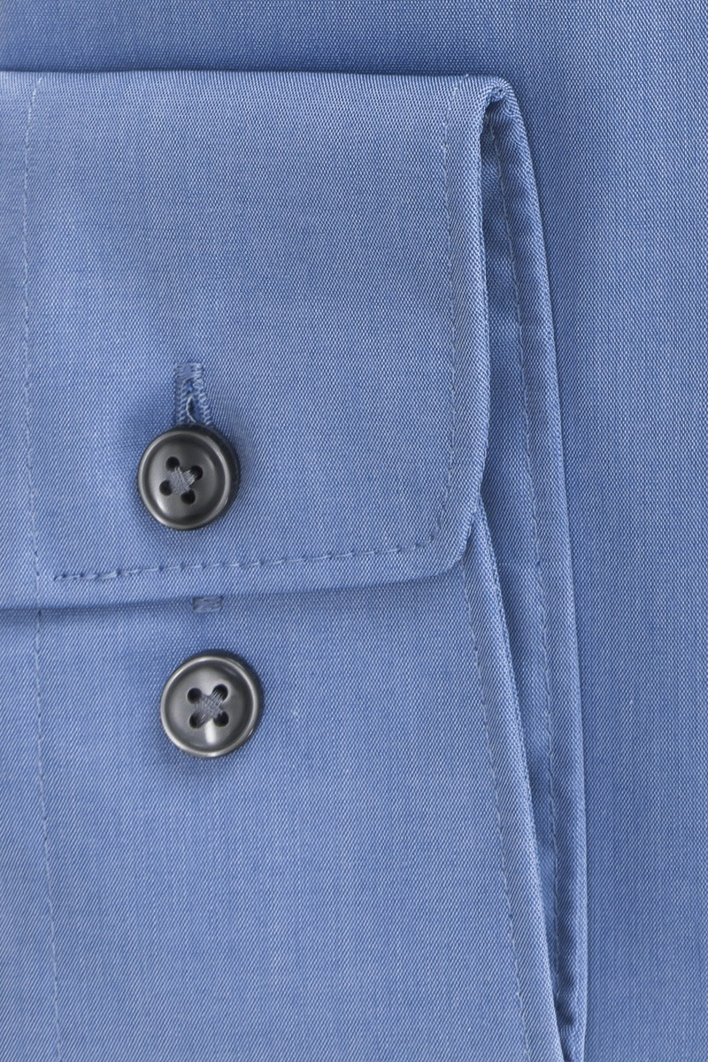 OLYMP Luxor comfort fit Hemd New Kent Chambray mittelblau