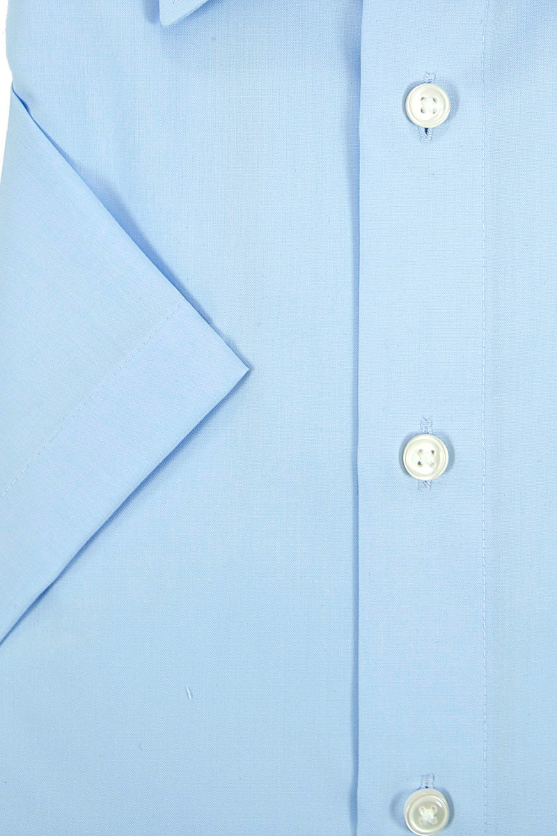 olymp olymp luxor comfort fit kurzarm hemd kent bleu. Black Bedroom Furniture Sets. Home Design Ideas
