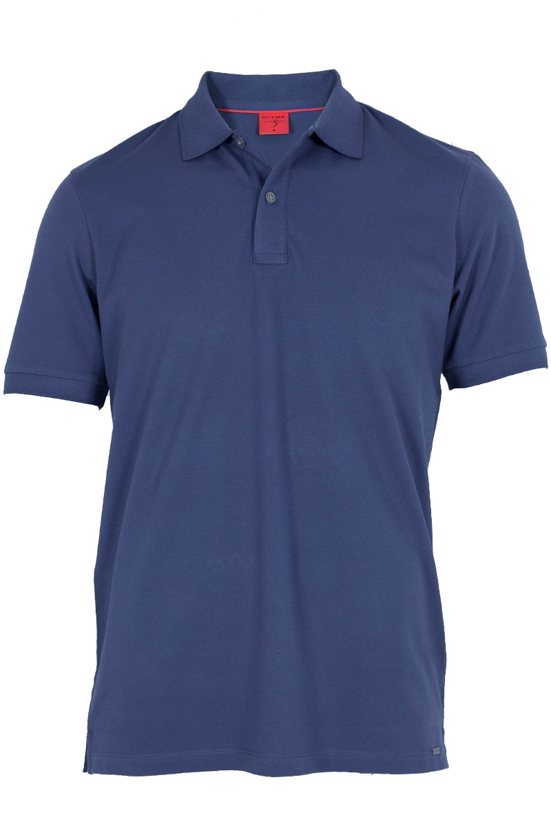 OLYMP Level Five Polo body fit indigo