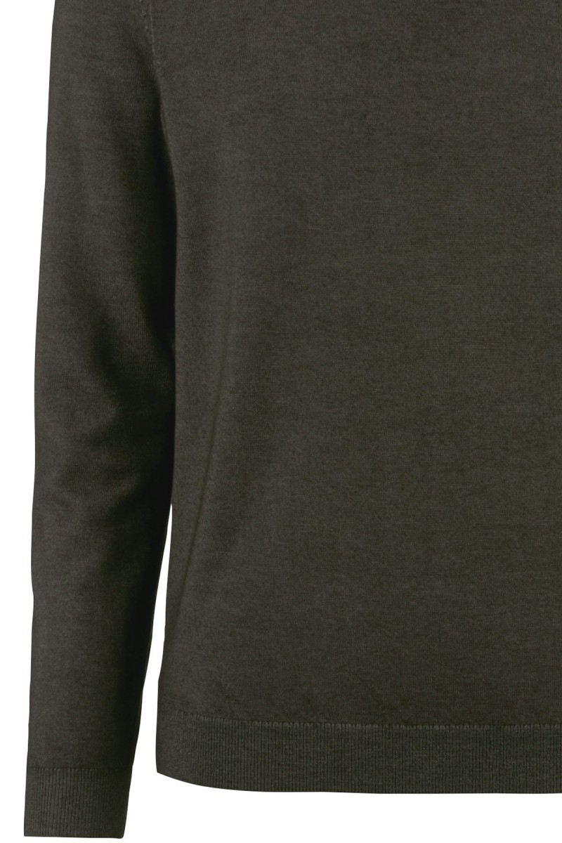 OLYMP Level Five Strick body fit Pullover Rundhals