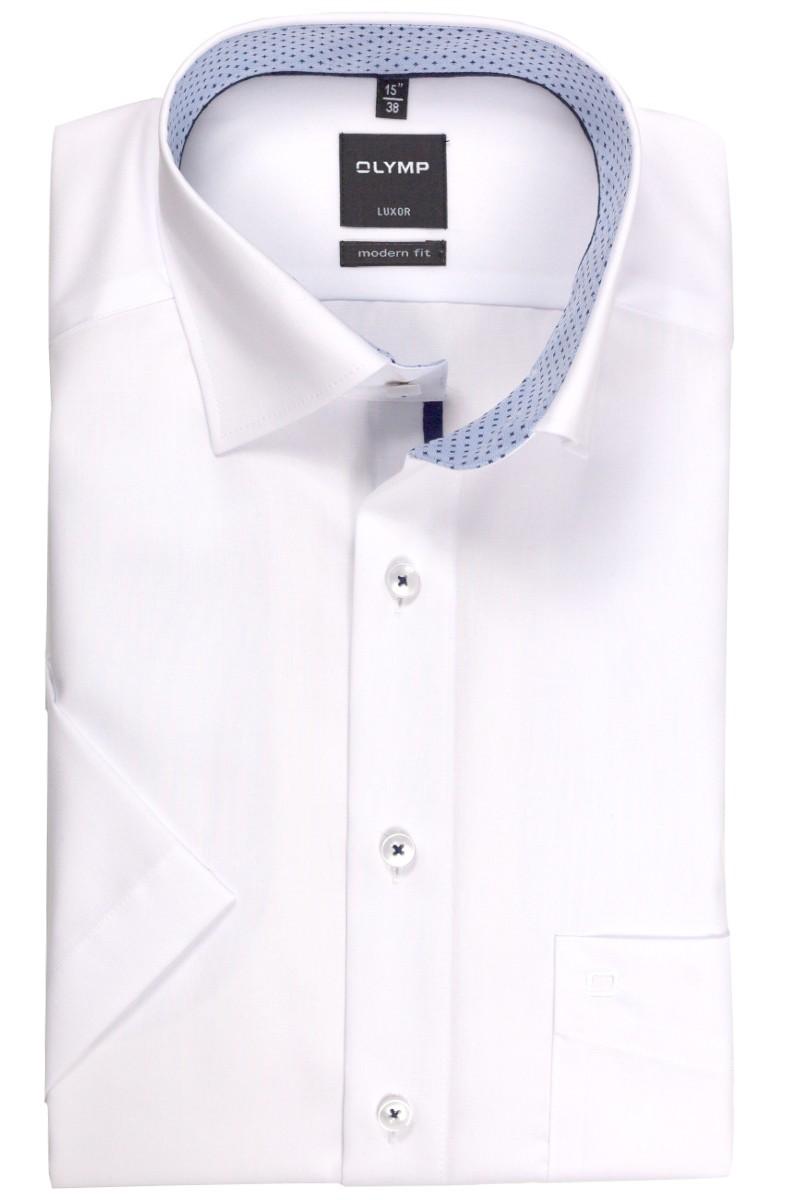 olymp olymp luxor modern fit kurzarm hemd under button. Black Bedroom Furniture Sets. Home Design Ideas