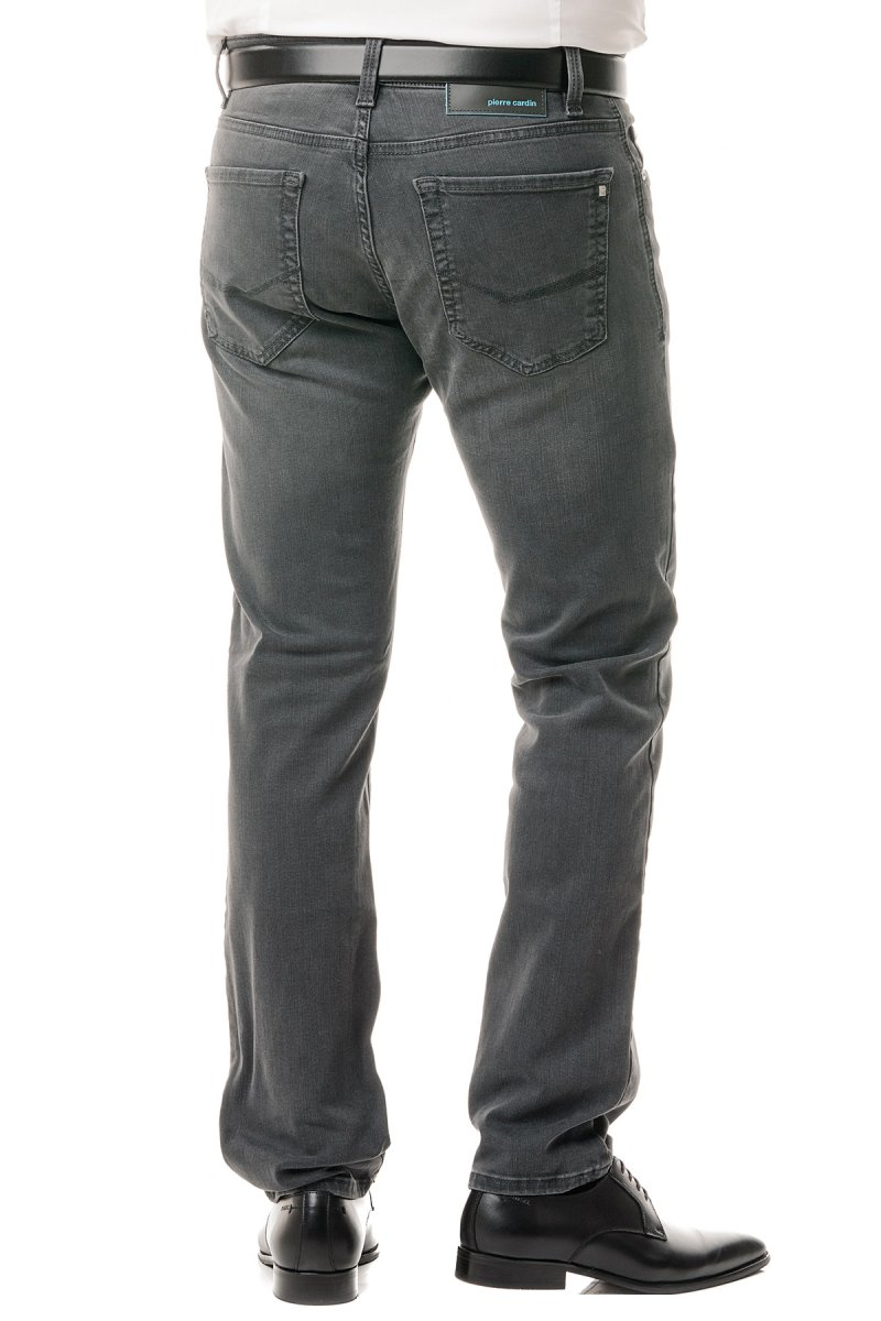 Pierre Cardin Future Jeans Lyon tapered Futureflex Modern Fit grey used washed