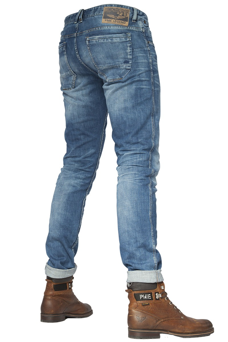 PME LEGEND Jeans Nightflight Slim Fit Stretch Slub Denim