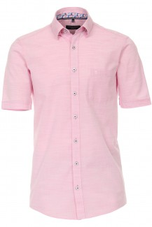 CASAMODA Casual Kurzarm Hemd comfort fit Under Button-Down altrose