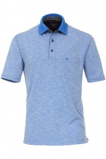 CASAMODA Funktion Polo modern fit blau