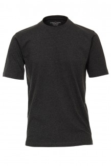 CASAMODA T-Shirt modern fit Rundhals in anthrazit