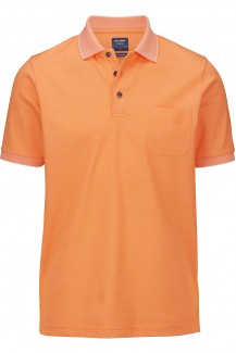 OLYMP Polo modern fit Jersey Funktion orange