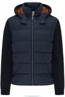 FYNCH-HATTON casual fit Hybrid Steppjacke navy