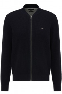 FYNCH-HATTON Strick casual fit College Cardigan navy