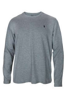 Polo Ralph Lauren - Long Sleeve Crew grey heather