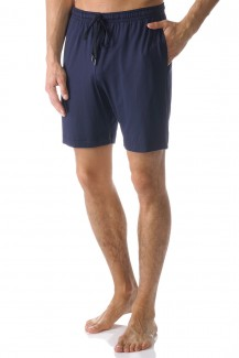 Mey Club Hose kurz Modal Jefferson yacht blue