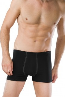 Schiesser Cotton Essentials Shorts 2er-Pack schwarz