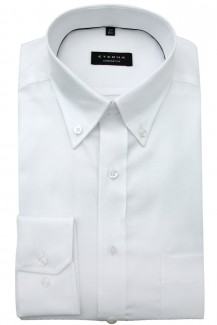Eterna Hemd comfort fit Button-Down Oxford weiß