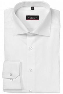 Eterna Cover Shirt modern fit Kent weiß