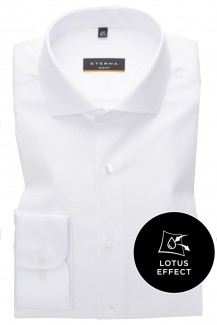 Eterna Lotus Shirt slim fit Haifisch weiß