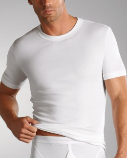 Jockey LUXURY COTTON  2200 T-Shirt - weiß
