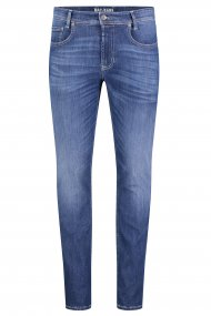 MAC MACFLEXX Jeans Arne Pipe deep blue vintage wash