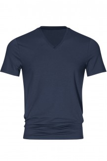 Mey Club Shirt V-Neck COOLMAX yacht blue