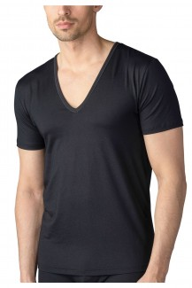 Mey Dry Cotton Drunterhemd Functional Business V-Neck schwarz