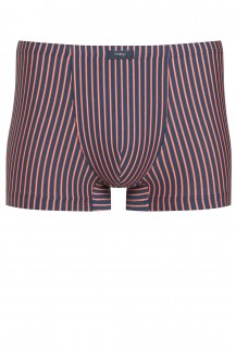 Mey Fashion Shorty SANAT CRUZ Streifen oxford blue-coral