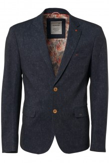 NO EXCESS Jersey modern fit Blazer night