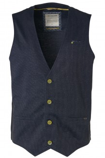 NO EXCESS Jersey modern fit Gilet night