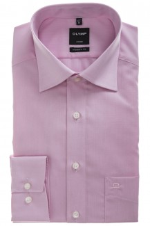 OLYMP Luxor modern fit Hemd New Kent Chambray rosé