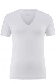 OLYMP T-Shirt Level Five body fit weiß