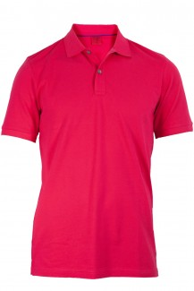 OLYMP Level Five Polo body fit Pique fuchsia
