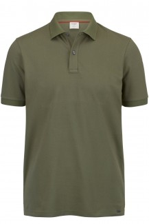 OLYMP Level Five Polo body fit Pique khaki