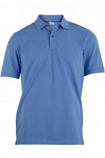 OLYMP Level Five Polo body fit Pique himmelblau