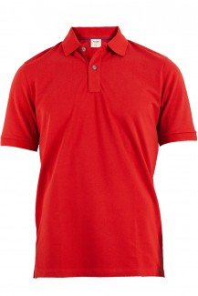 OLYMP Level Five Polo body fit Pique rot