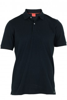 OLYMP Level Five Polo body fit Pique schwarz
