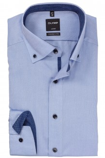 OLYMP Luxor modern fit Hemd Button-Down Pin Point ozon