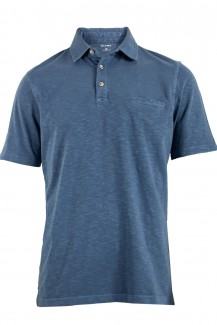OLYMP Polo modern fit Jersey indigo