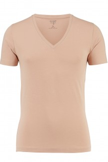 OLYMP T-Shirt Level Five body fit nude