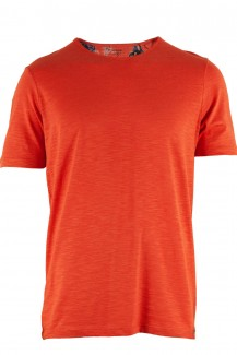 OLYMP T-Shirt Level Five body fit Rundhals Club Jersey orange