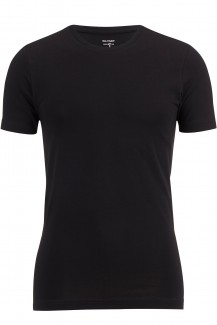 OLYMP T-Shirt Level Five body fit Rundhals schwarz