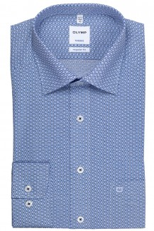 OLYMP Tendenz regular fit Hemd New Kent Ringe marine-bleu