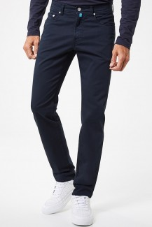Pierre Cardin Hose Modern Fit Lyon tapered Futureflex marine