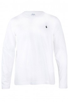 Polo Ralph Lauren - Long Sleered Crew white