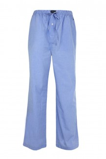 Polo Ralph Lauren - Pyjama Long Pant Light Blue Mini Gingham